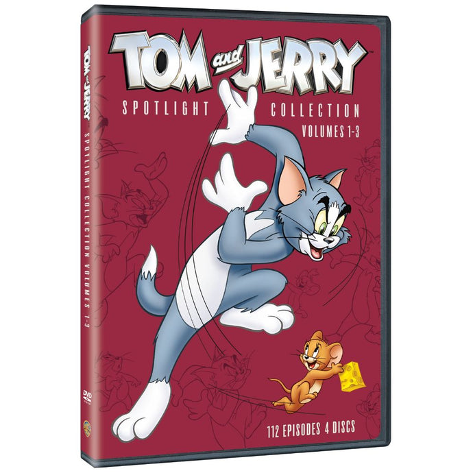 Tom and Jerry Spotlight Collection: Vol. 1-3 (DVD)