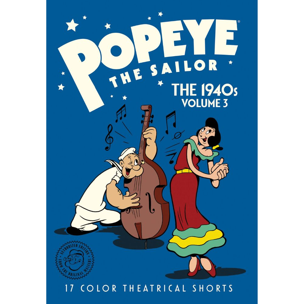 Popeye the Sailor: The 1940s Volume 3 (MOD)