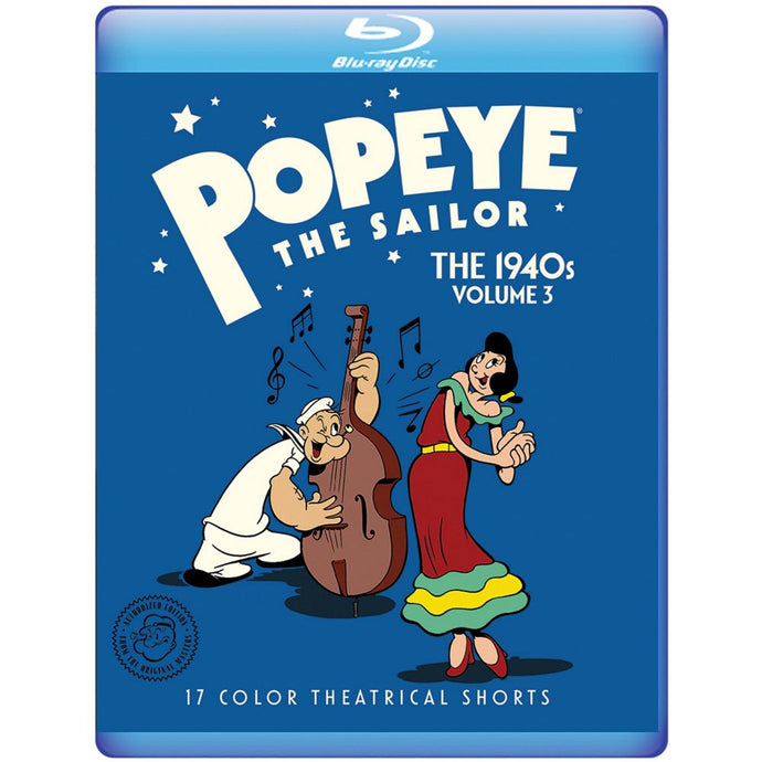 Popeye the Sailor: The 1940s Volume 3 (BD)