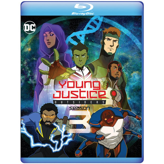 Young Justice Outsiders: The Complete Third Season (BD)