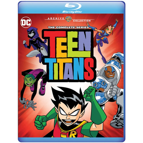 Teen Titans: The Complete Series (BD)