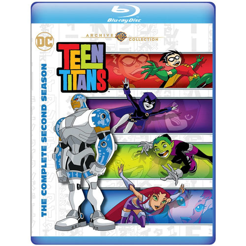 Teen Titans: The Complete Second Season (BD)