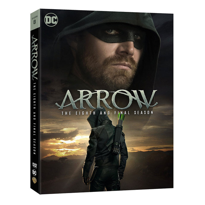 Arrow: The Eighth and Final Season (DVD)