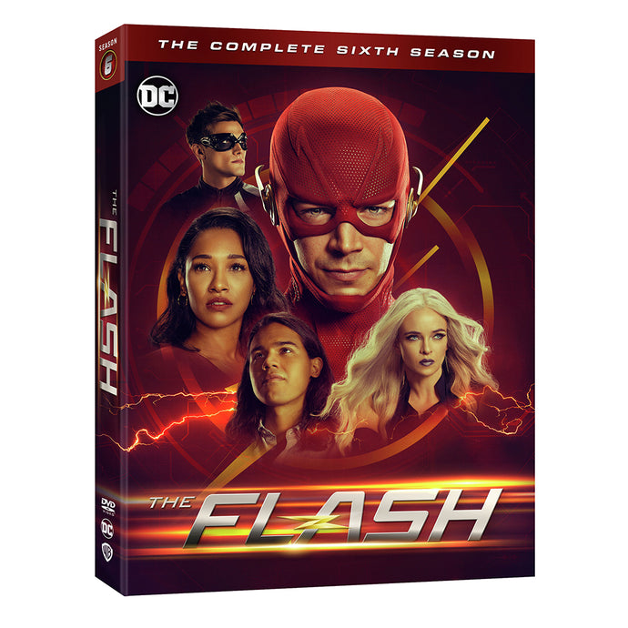 The Flash: The Complete Sixth Season (DVD)