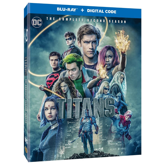 Titans: The Complete Second Season (BD)