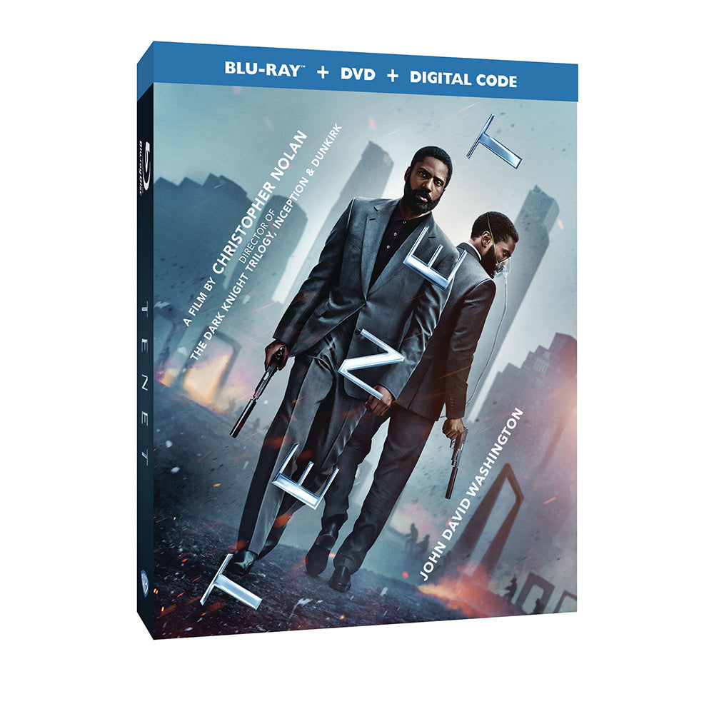 Tenet (Blu-ray + DVD + Digital Combo Pack)