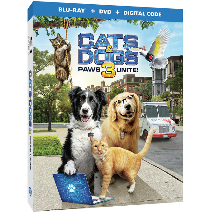 Cats & Dogs 3: Paws Unite! (BD)