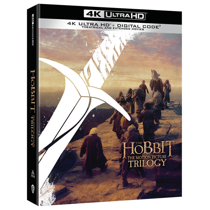 The Hobbit: The Motion Picture Trilogy (4K UHD)