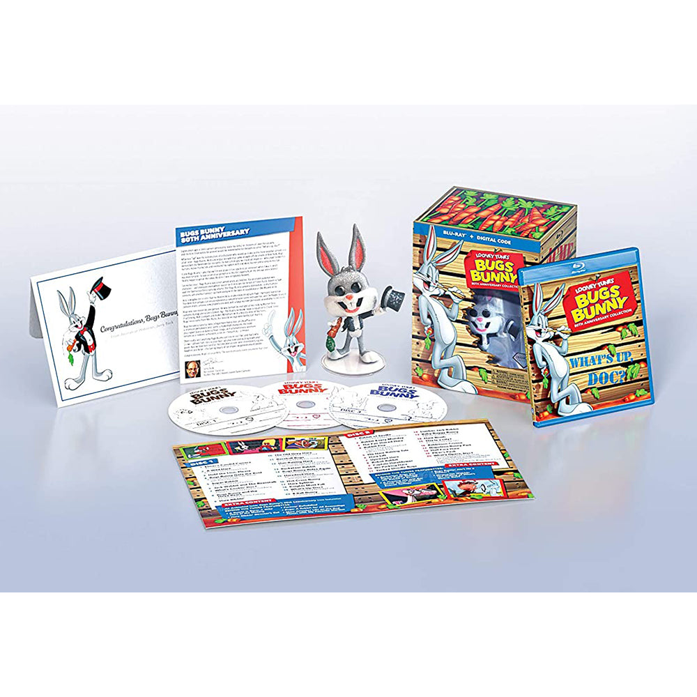 Bugs Bunny 80th Anniversary Collection (BD)