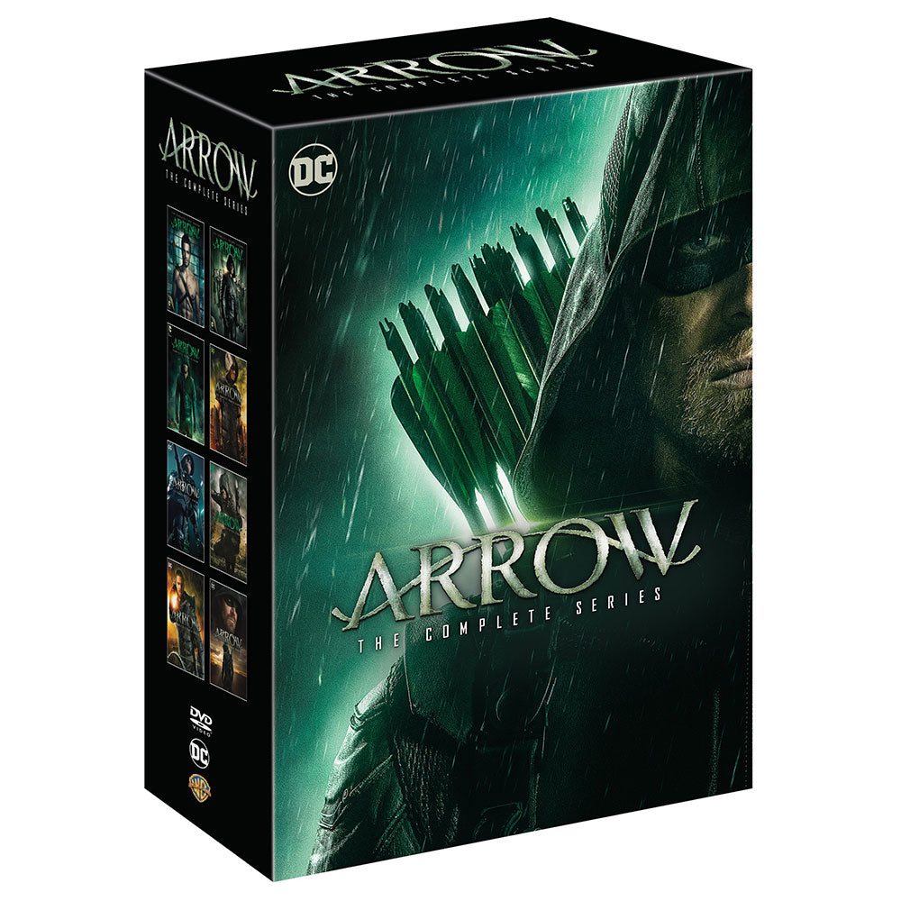 Arrow: The Complete Series (DVD)