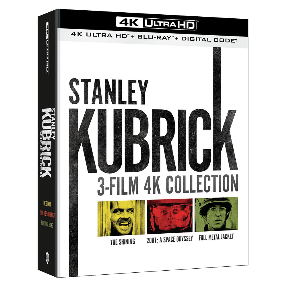 Stanley Kubrick 3-Film 4K Collection (4K UHD)