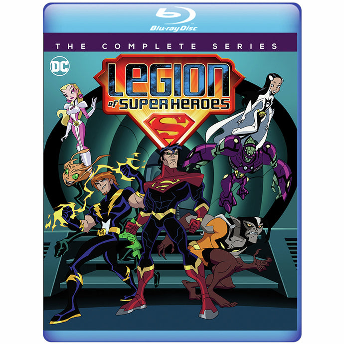 Legion of Super Heroes: The Complete Series (BD)