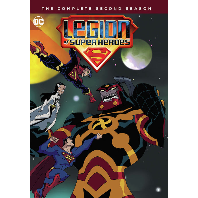 Legion of Super Heroes: The Complete Second Season (MOD)