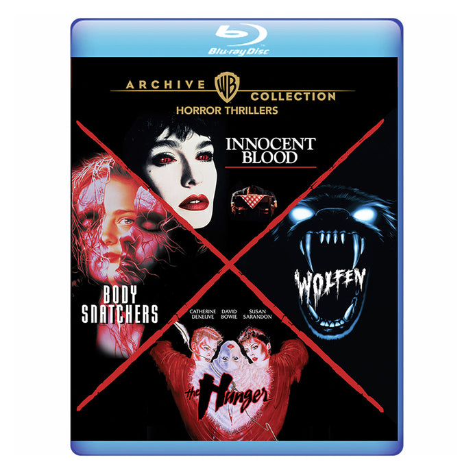 Horror Thrillers 4-Film Collection (BD)