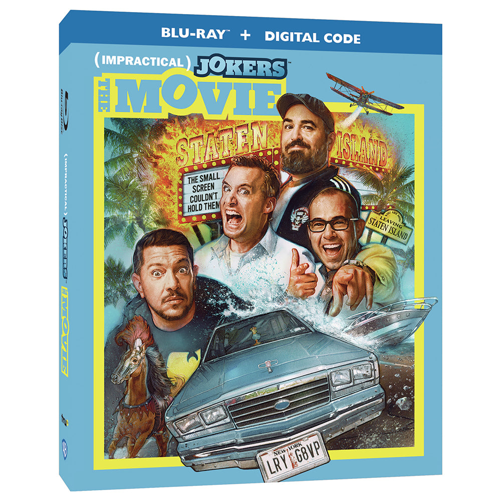 Impractical Jokers: The Movie (BD)