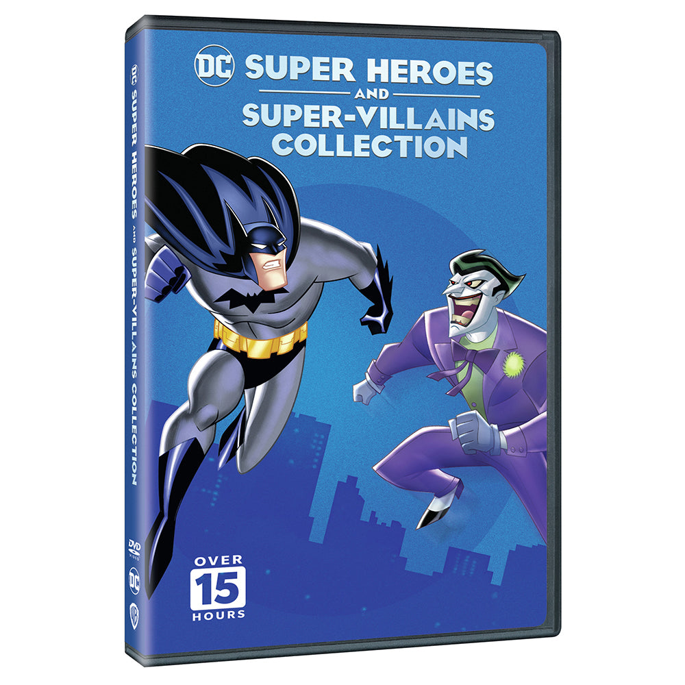 DC Super Heroes and Super-Villains Collection (DVD)