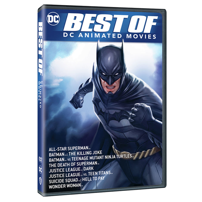 Best of DC Animated Movies (DVD)