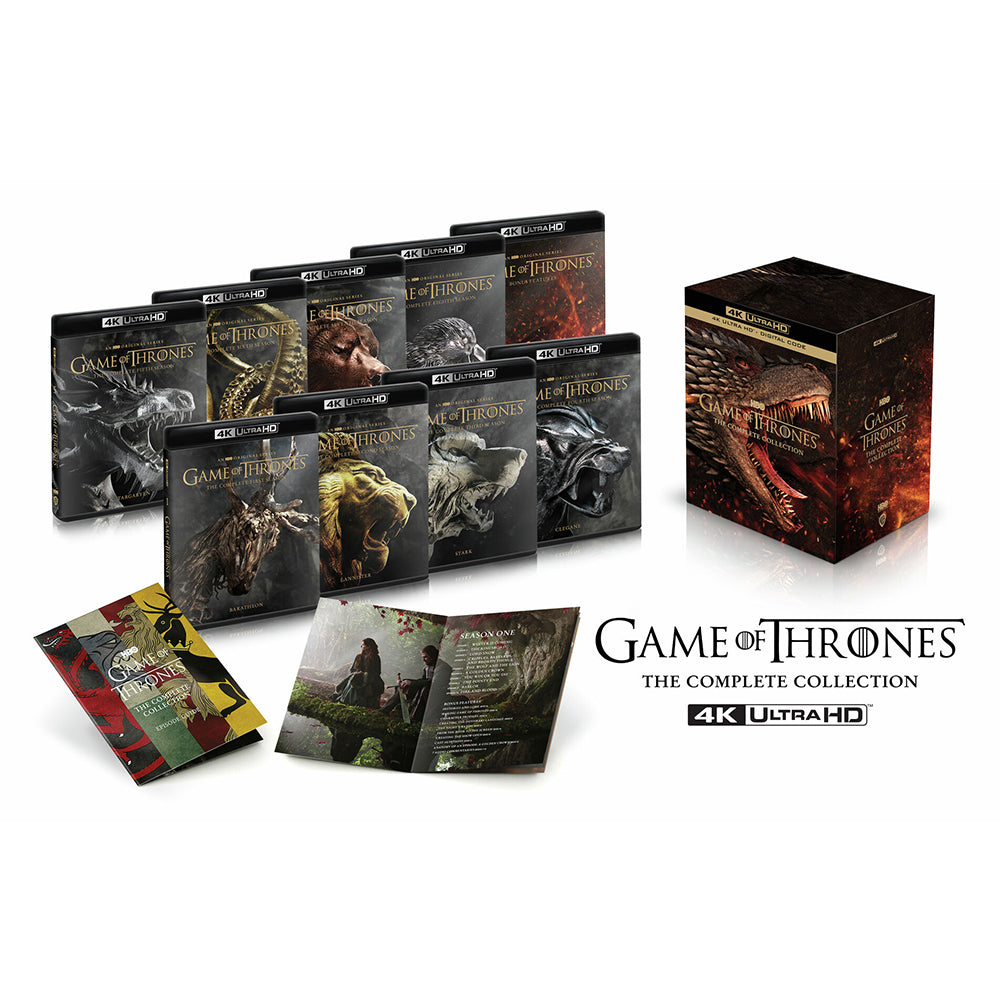 Game of Thrones: The Complete Collection (4K UHD)
