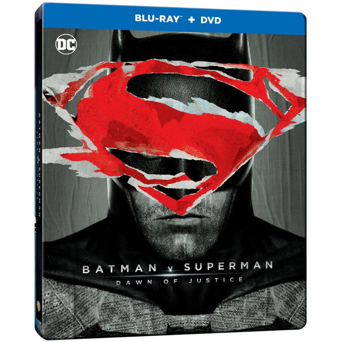 Batman v Superman: Dawn Of Justice (Ultimate Edition) (Steelbook) (BD)
