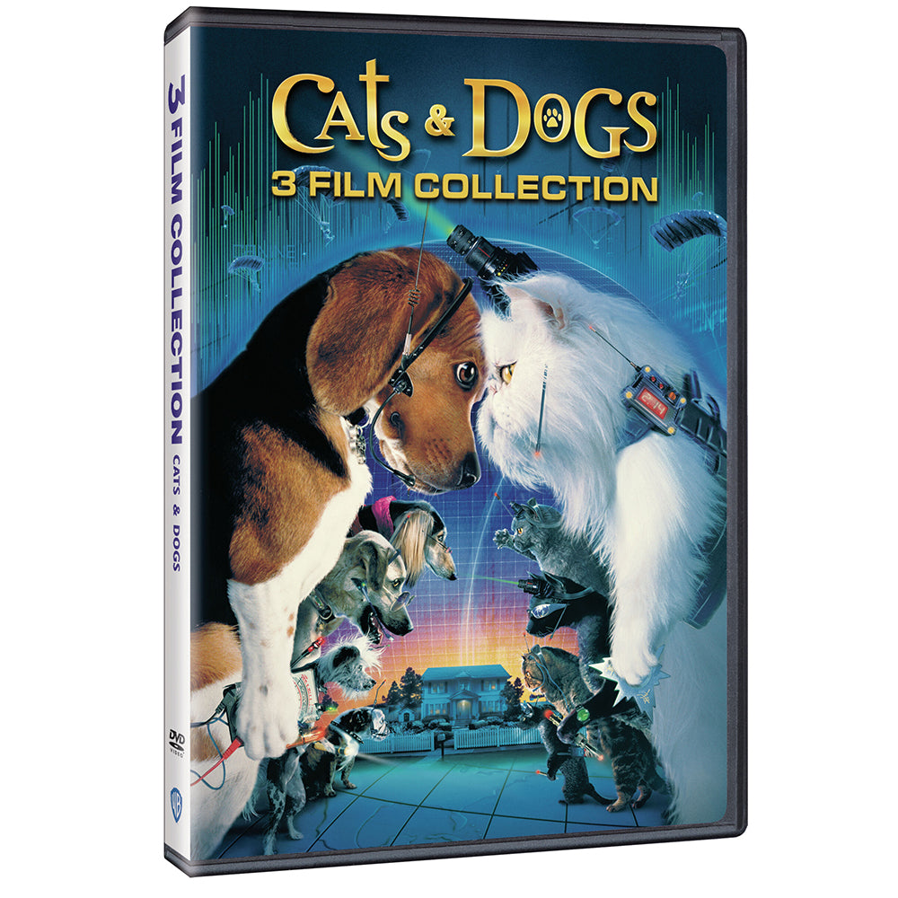 Cats & Dogs 3-Film Collection (DVD)