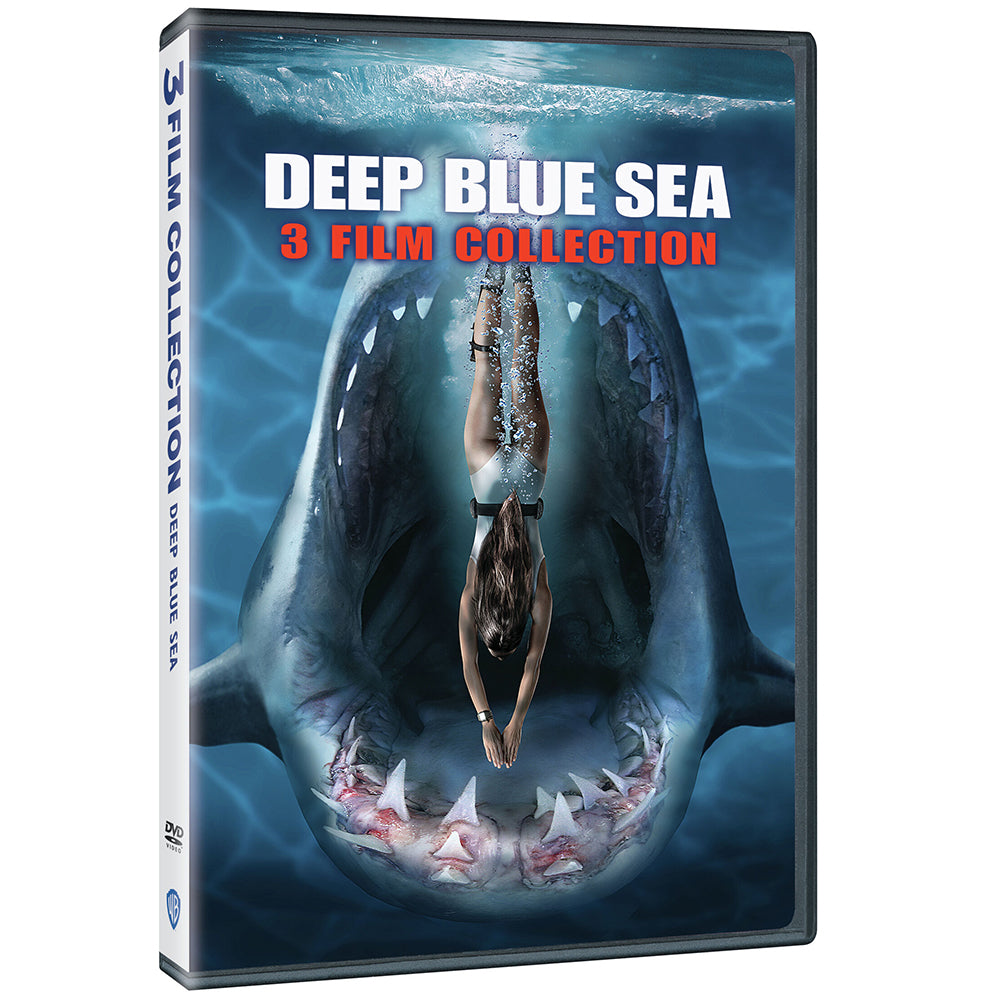 Deep Blue Sea 3-Film Collection (DVD)