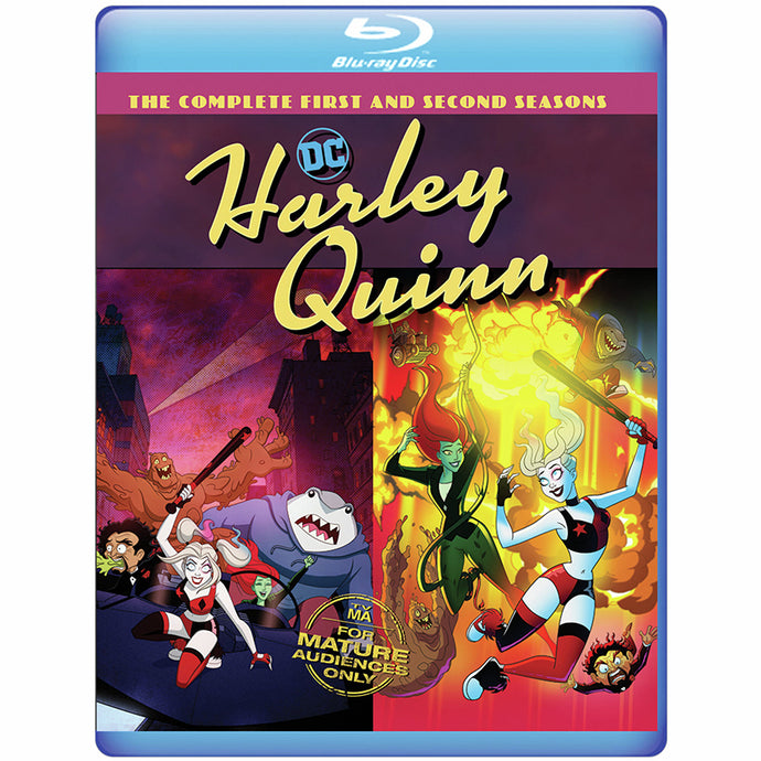 Harley Quinn: The Complete First and Second Seasons (BD)