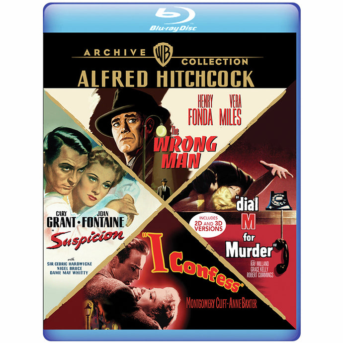 4-Film Collection: Alfred Hitchcock (BD)