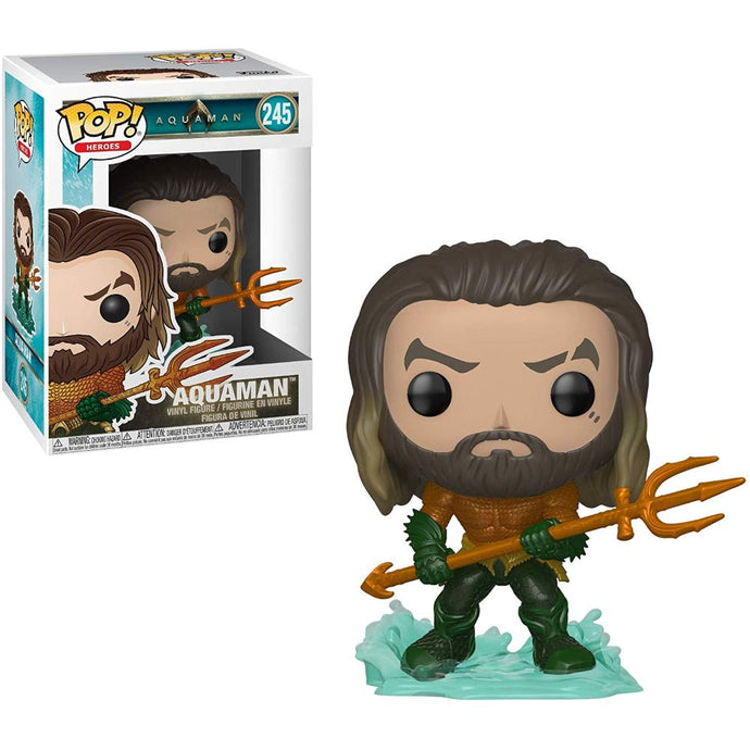 Aquaman Movie Aquaman Funko Pop! Heroes Vinyl Figure