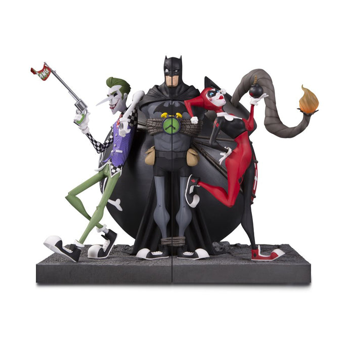 DC Gallery The Joker & Harley Quinn Bookends