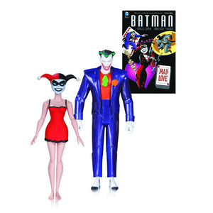 The Batman Adventures: Mad Love Joker & Harley Quinn 2nd Edition Figure and Book Set