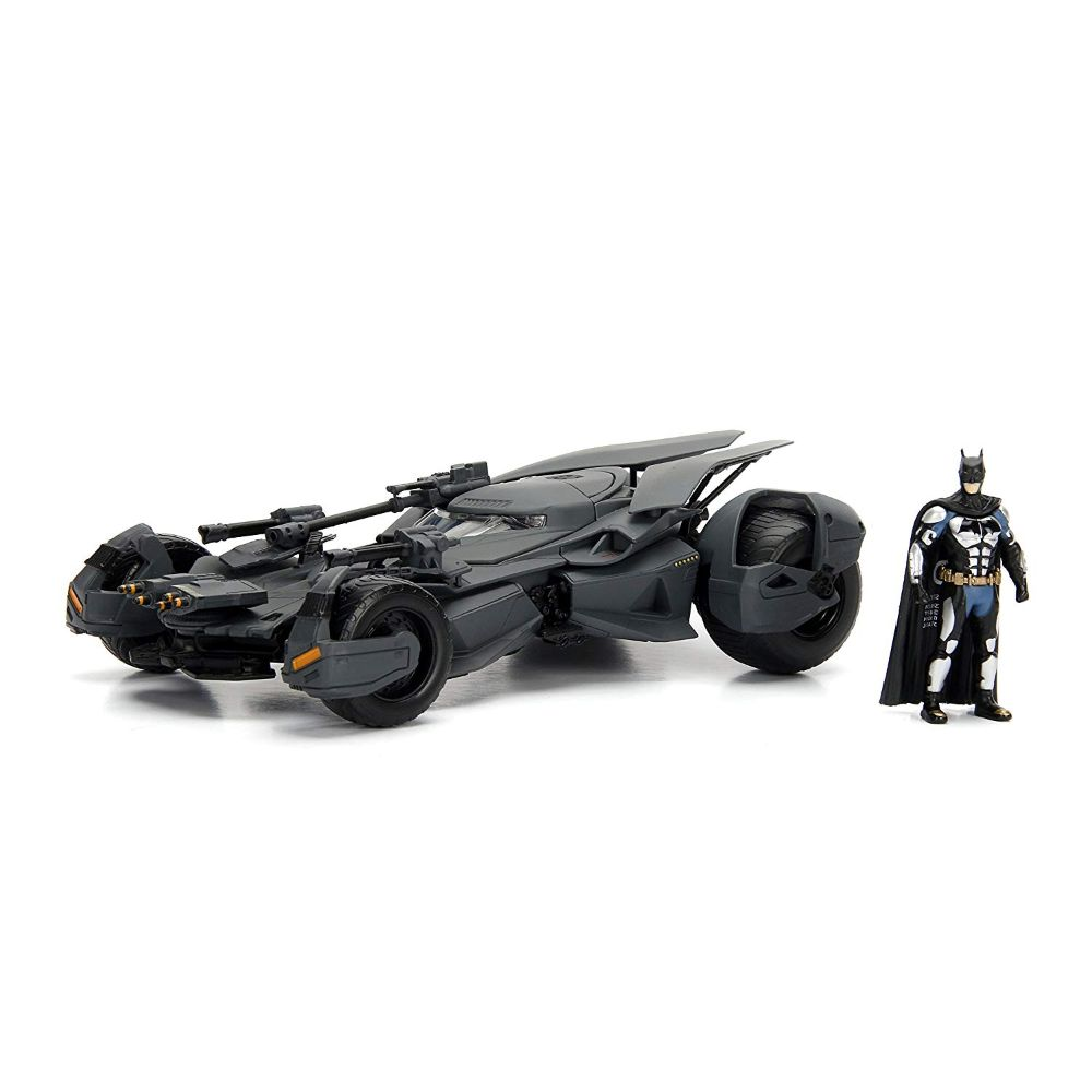 Justice League Movie Batmobile & Batman Metals Die Cast Set