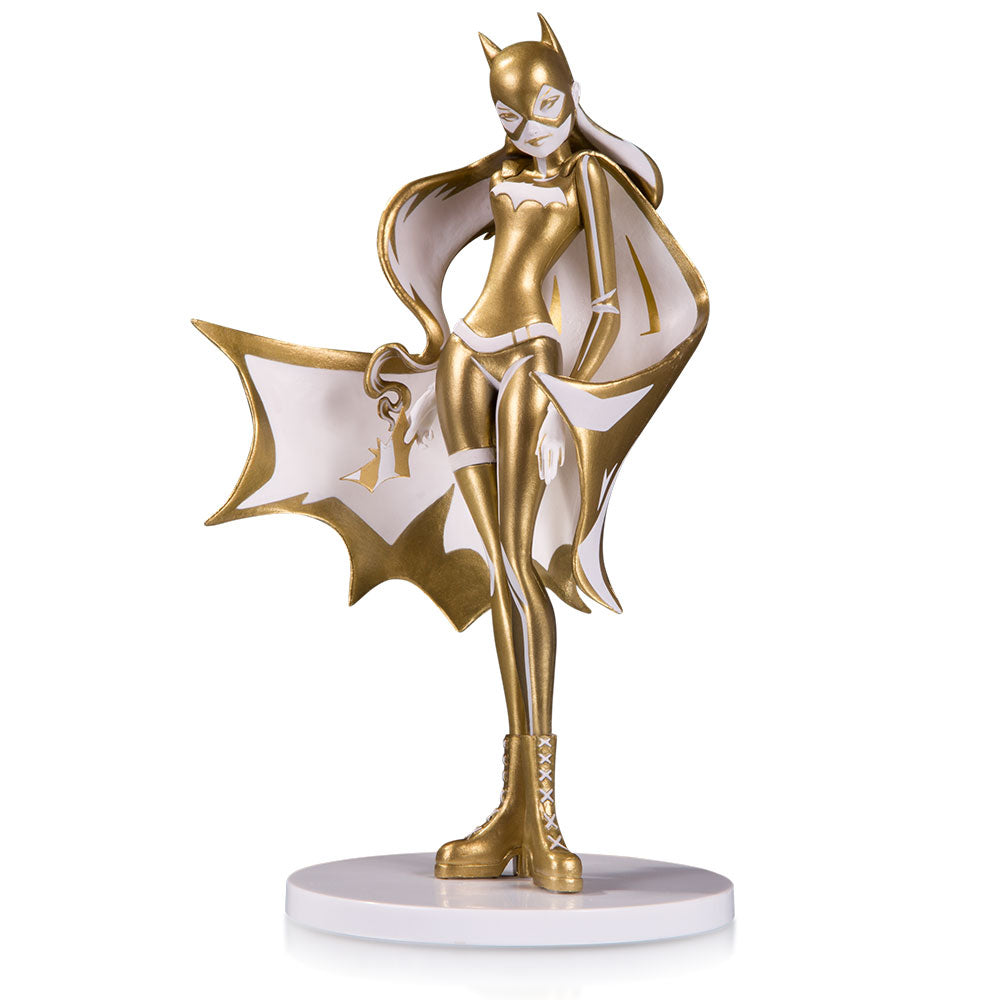 DC Artists Alley Batgirl (White & Gold) by Sho Murase Designer Vinyl