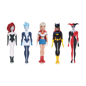The New Batman Adventures Girl's Night Out Action Figure 5-Pack