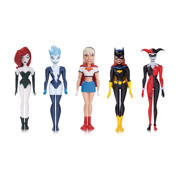 The New Batman Adventures Girls' Night Out Action Figure 5-Pack