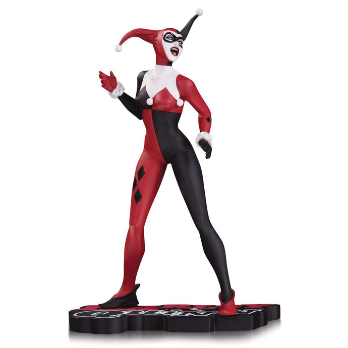 Harley Quinn Red, White & Black by Jae Lee Statue