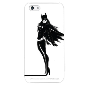 Additional image of Batgirl Black & White Phone Case for iPhone and Galaxy