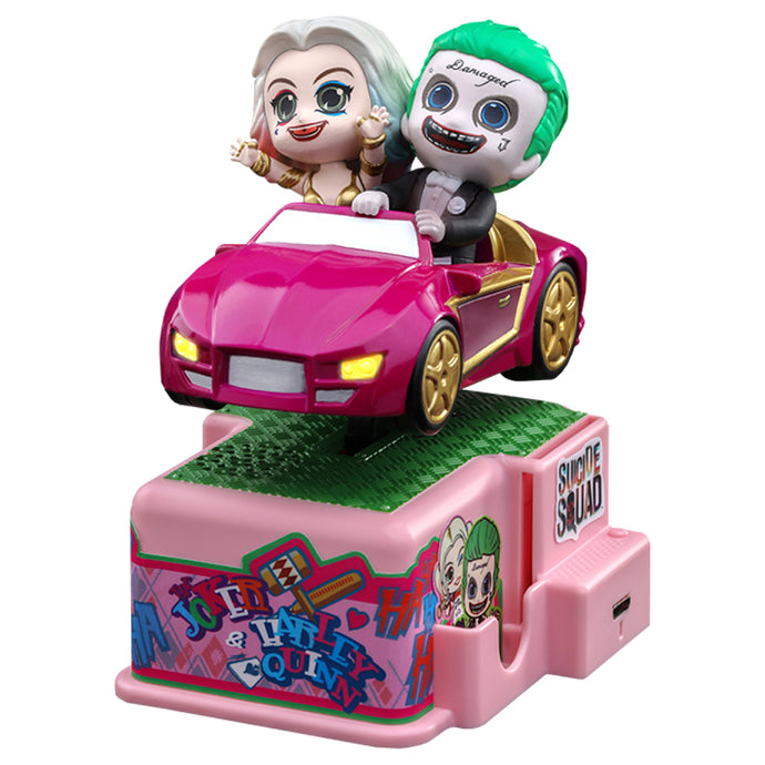The Joker & Harley Quinn CosRider Figure from Suicide Squad