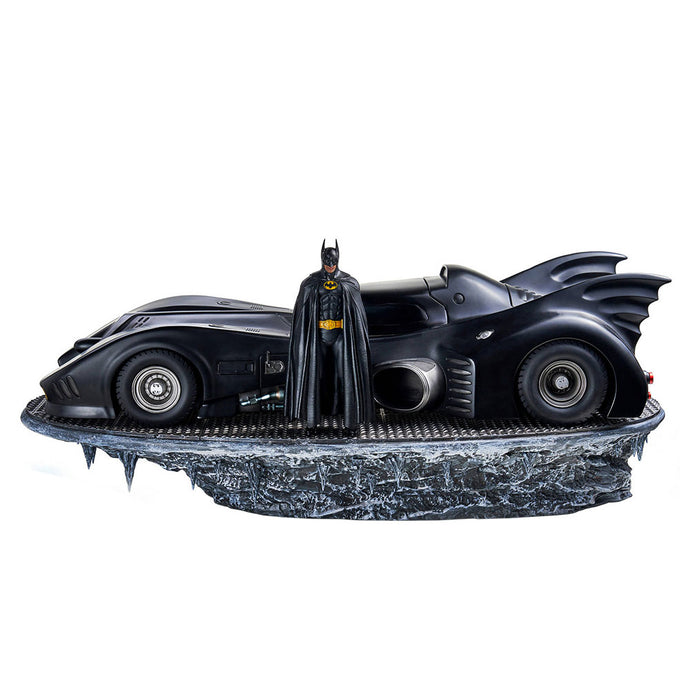 Batman (1989) Batman & Batmobile Deluxe Art Scale 1/10 Collectible Set