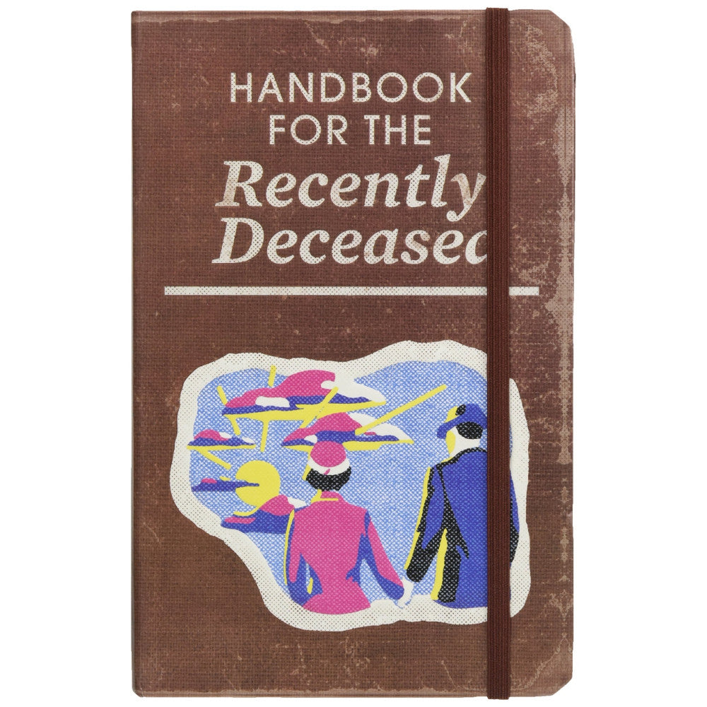 Beetlejuice Handbook for the Recently Deceased Hardcover Ruled Journal