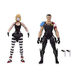 Watchmen Doomsday Clock Comedian & Marionette Action Figure 2-Pack