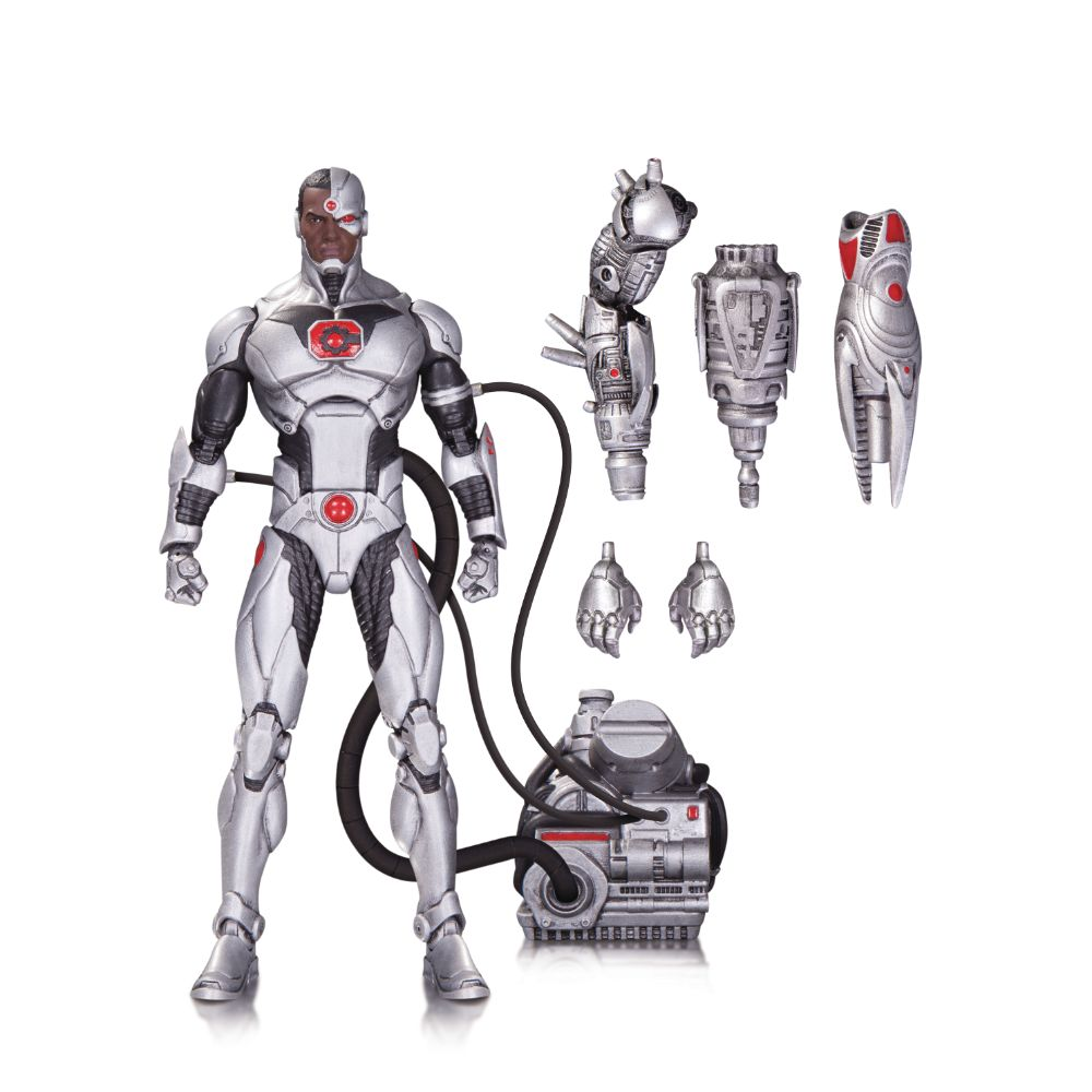 DC Comics Icons Cyborg Deluxe Action Figure