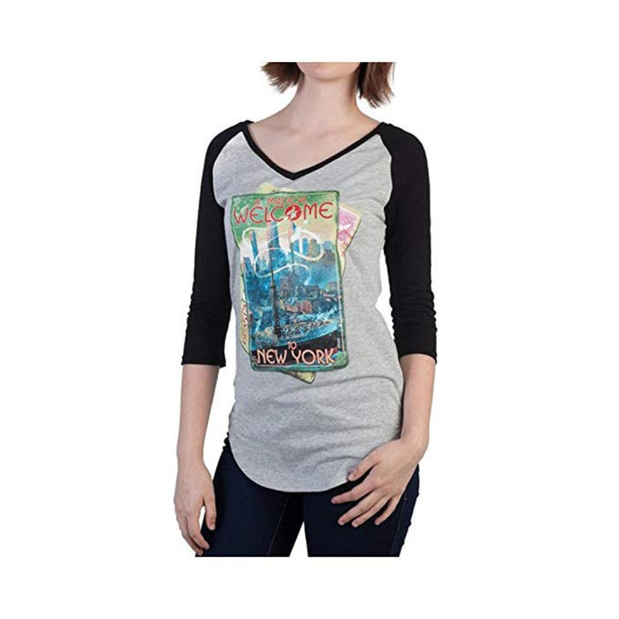 Fantastic Beasts and Where to Find Them™ Welcome to New York V-neck Juniors Raglan