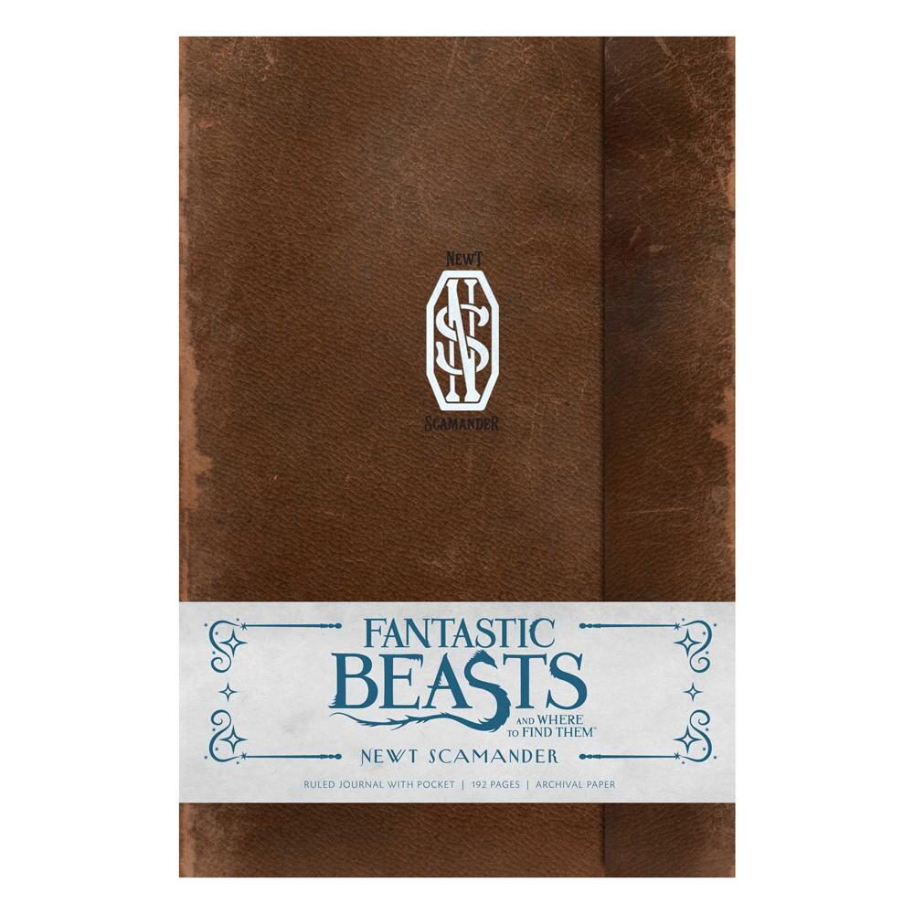 FANTASTIC BEASTS AND WHERE TO FIND THEM™ NEWT SCAMANDER™ Hardcover Ruled Journal
