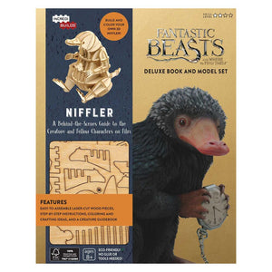 IncrediBuilds: FANTASTIC BEASTS AND WHERE TO FIND THEM™ NIFFLER™ Deluxe Book and Model Set