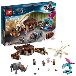 Newt's Case of Magical Creatures LEGO® from Fantastic Beats: The Crimes of Grindelwald™