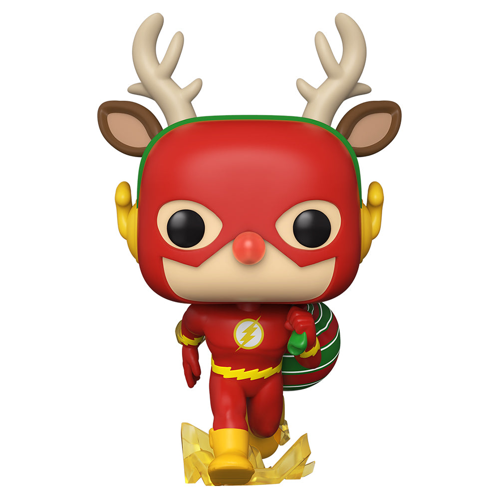 DC Holiday: The Flash Holiday Dash Funko Pop! Heroes Vinyl Figure