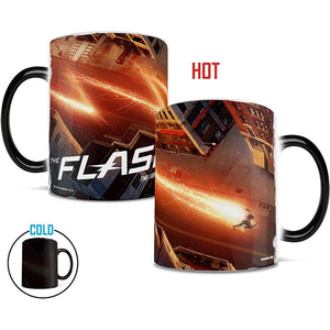 The Flash TV Series Time For A Hero Transforming Mug