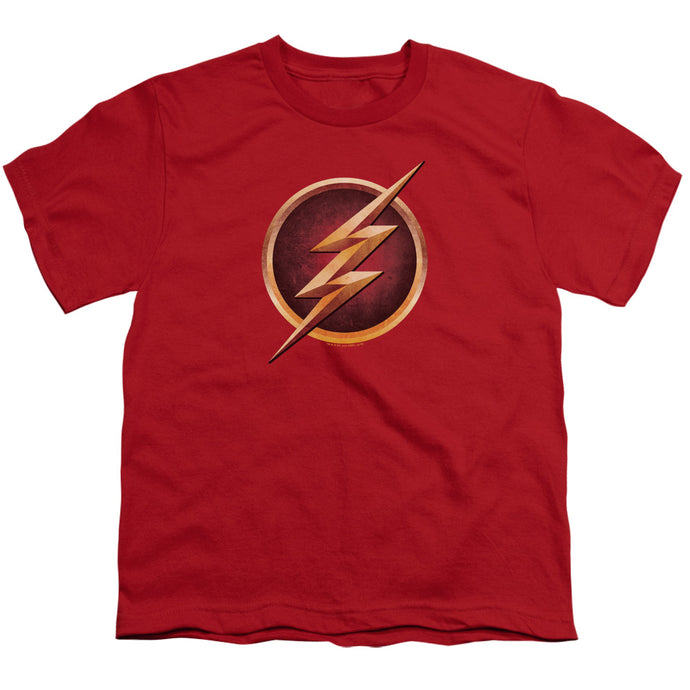 The Flash TV Series Chest Logo (Variant) Youth T-shirt
