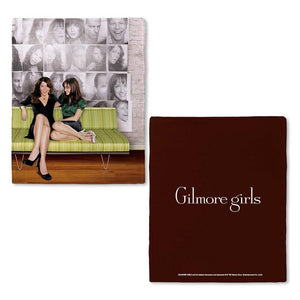 Gilmore Girls Lorelai and Rory Fleece Throw Blanket