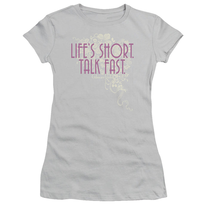Gilmore Girls Life's Short Juniors T-shirt